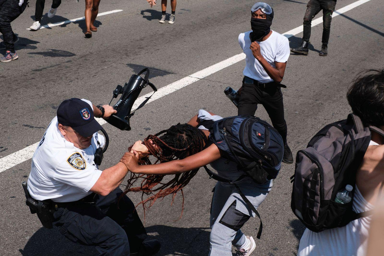 APTOPIX Racial Injustice New York