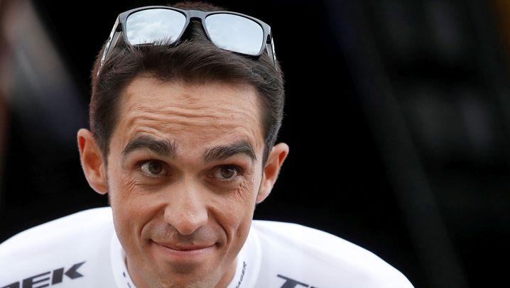 Alberto Contador: Abgestürzt