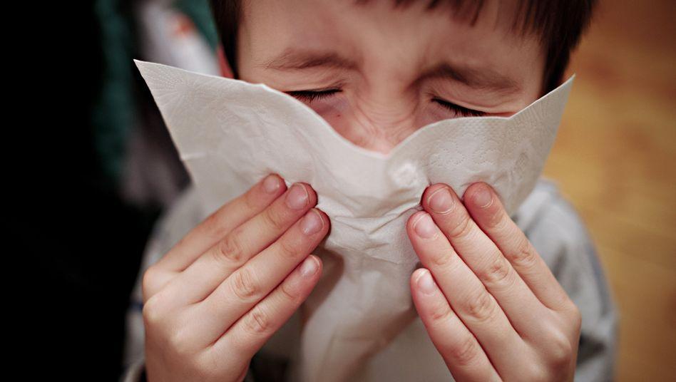 Hatschi: Hoffentlich ist es nur eine Erkältung