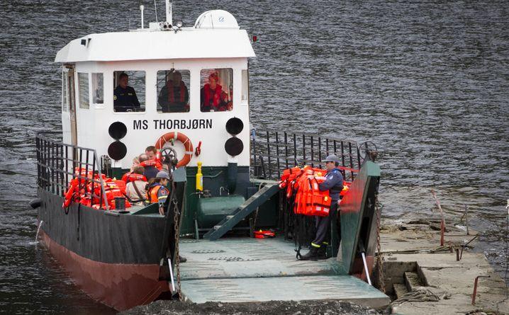 Utøya-Fähre: Mit diesem Schiff gelangte Breivik auf die Insel
