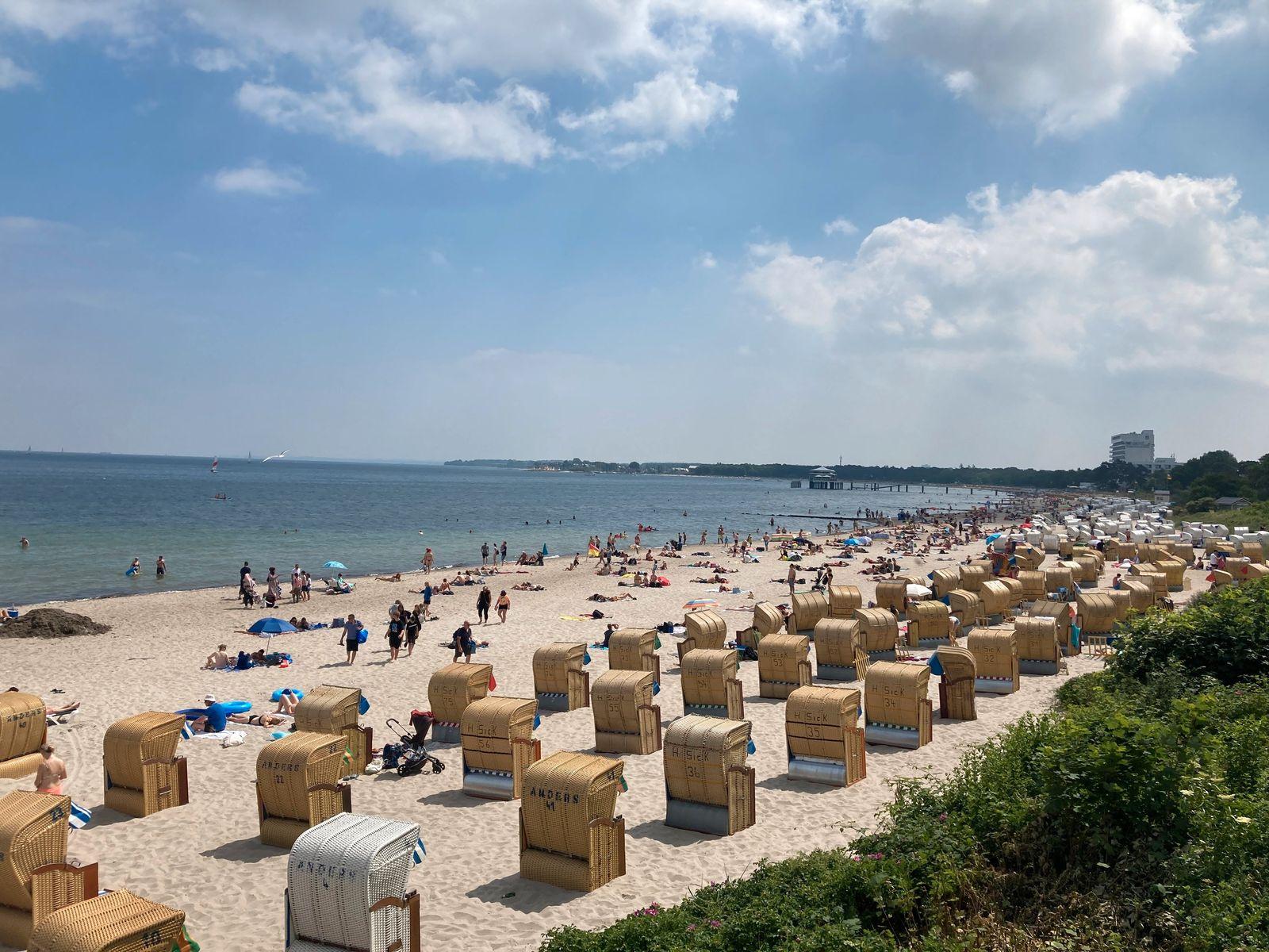 Urlaubswetter an der Ostsee
