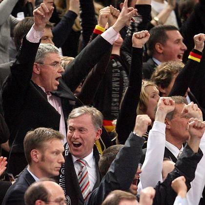 """Bundespräsident Köhler, Fans: """"Dann passt das"""""""