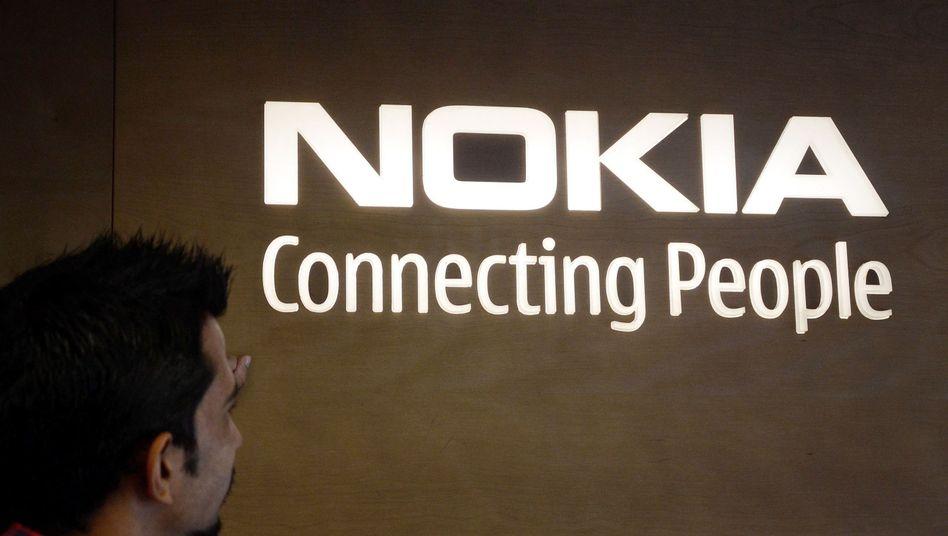 Nokia-Logo in Indien: Milliardengebote für Kartendienst Here