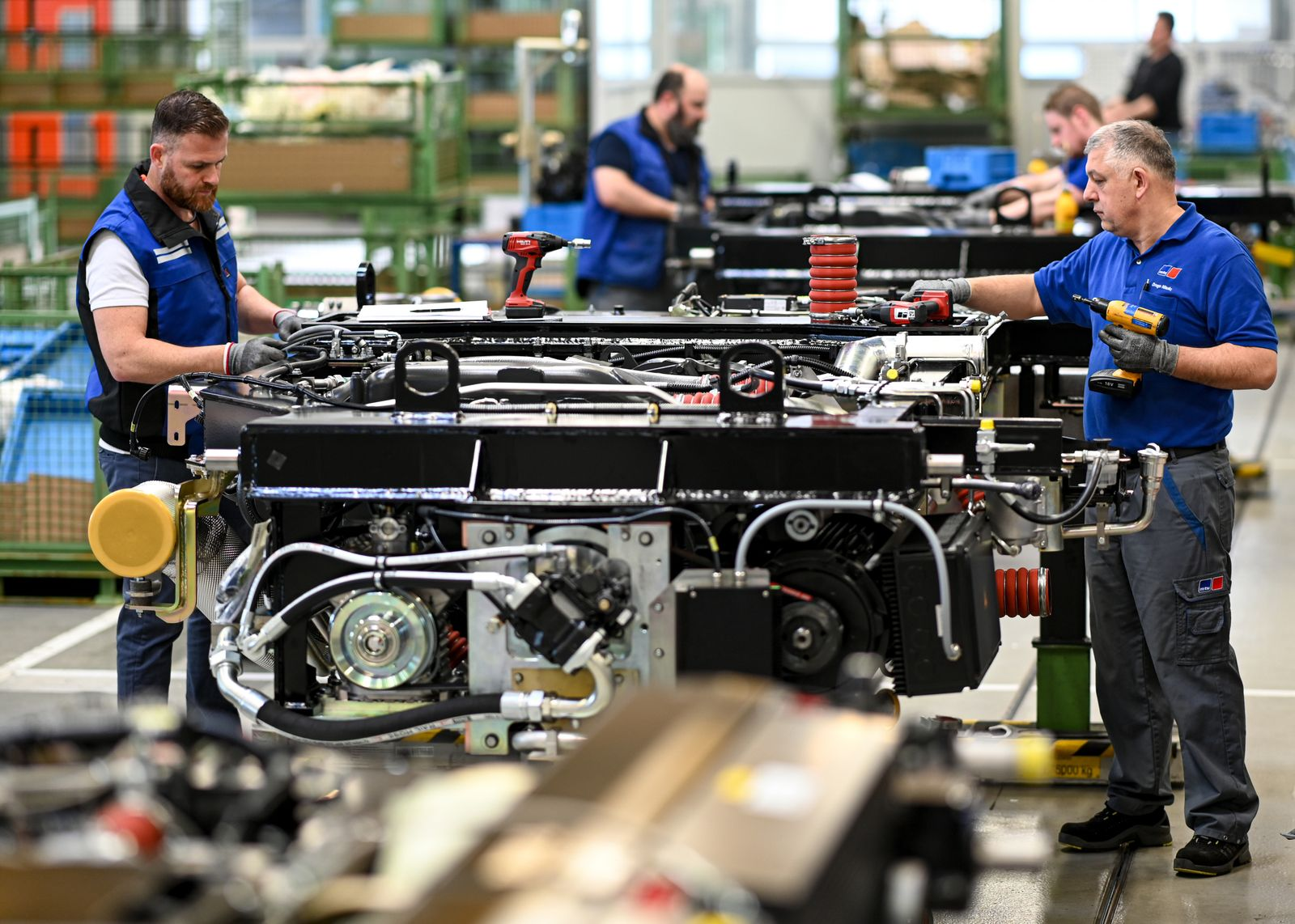 Produktion bei Rolls-Royce Power Systems