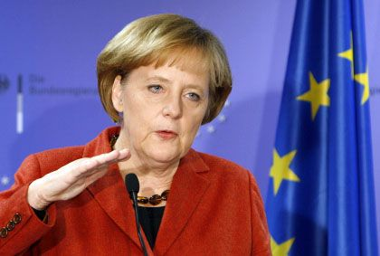 Germany's Chancellor Angela Merkel is resisting calls for tax cuts to stimulate the flagging economy.