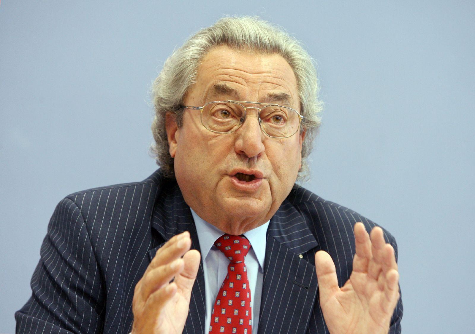 Pk zur Tarifpolitik im Zeichen der Krise mit Dieter Hundt