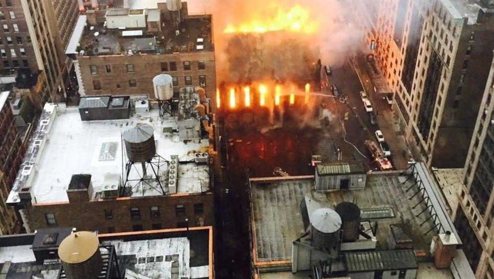 Kirche in New York: Großbrand am Osterfest