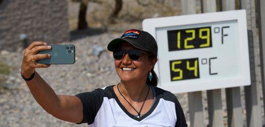 Death Valley, USA: Extremwetter 54° Celsius im Juni