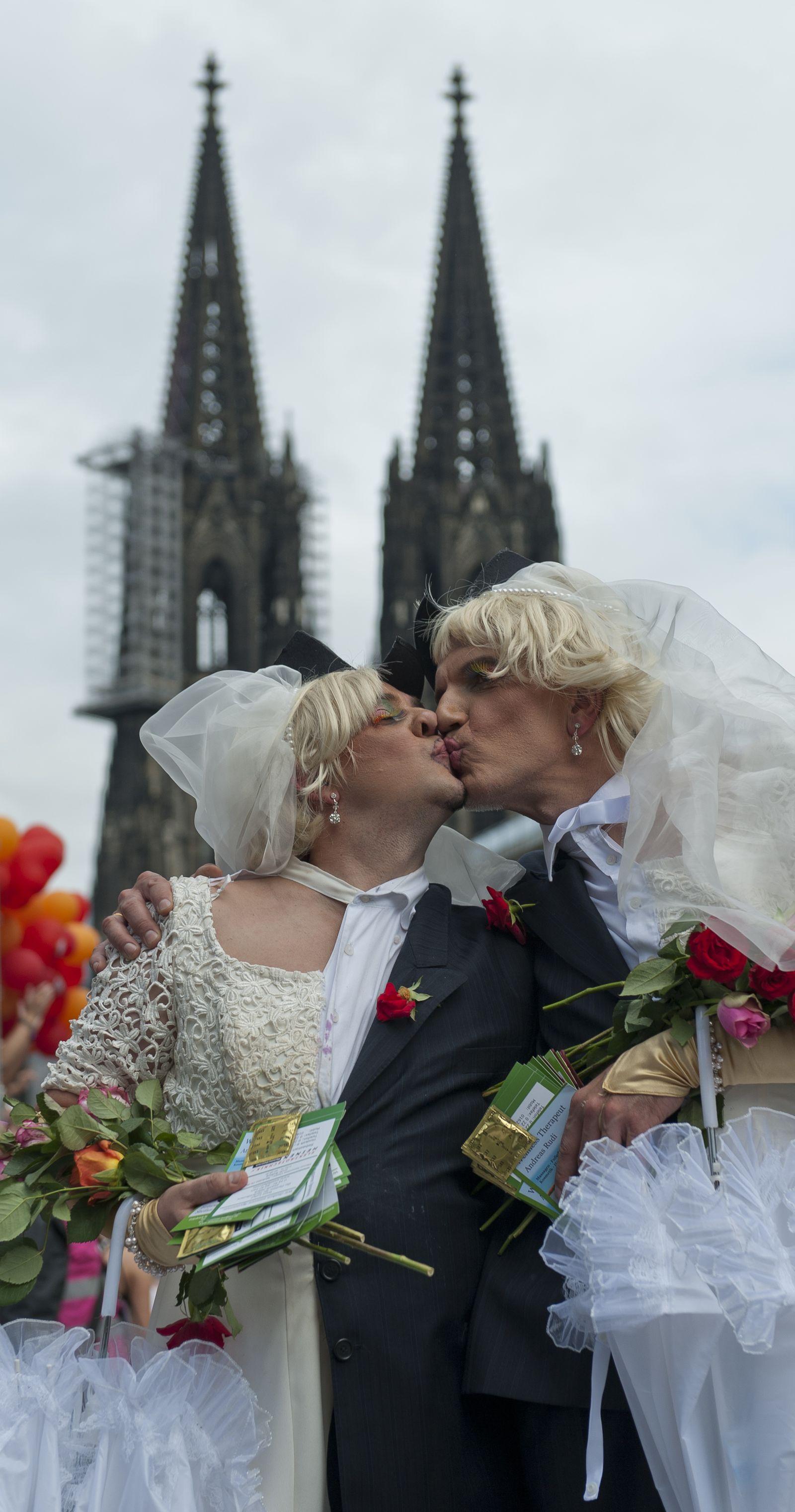 NICHT VERWENDEN Gesellschaft/Homosexualitaet Christopher Street Day Köln
