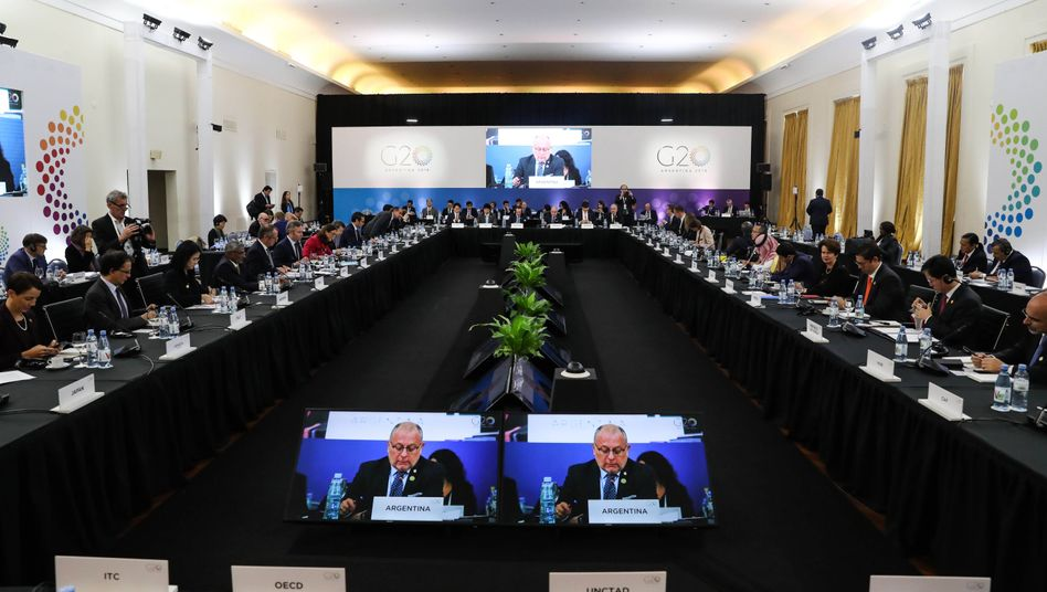 G20-Treffen in Mar del Plata