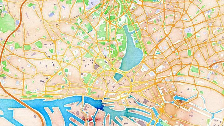 Online-Karten: Stamen macht Open Street Map schön