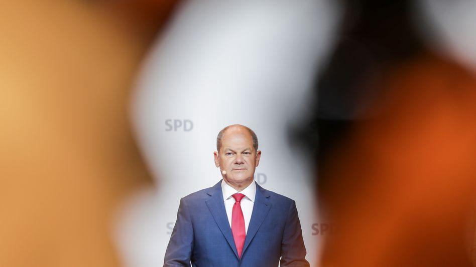 Kanzlerkandidat Scholz: Prognosen mit großer Entschiedenheit