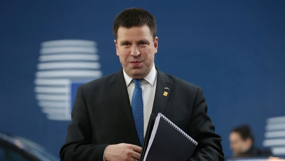 Estlands Premier Jüri Ratas