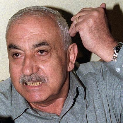 George Habasch bei einem Interview im Jahre 2000: Gründer der radikalen Volksfront zur Befreiung Palästinas