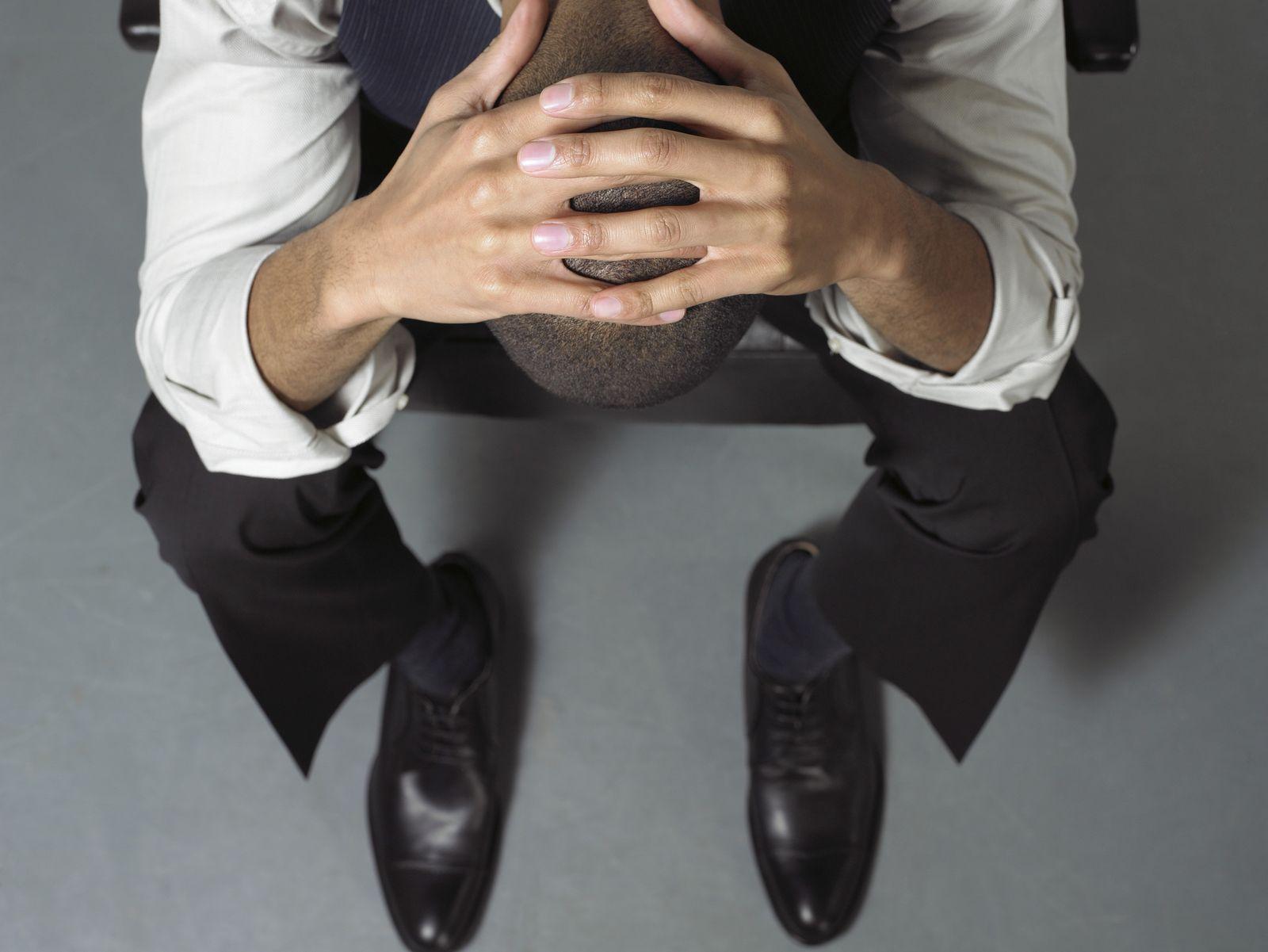 NICHT MEHR VERWENDEN! - EINMALIGE VERWENDUNG KaSP Depression Burnout SYMBOLBILD