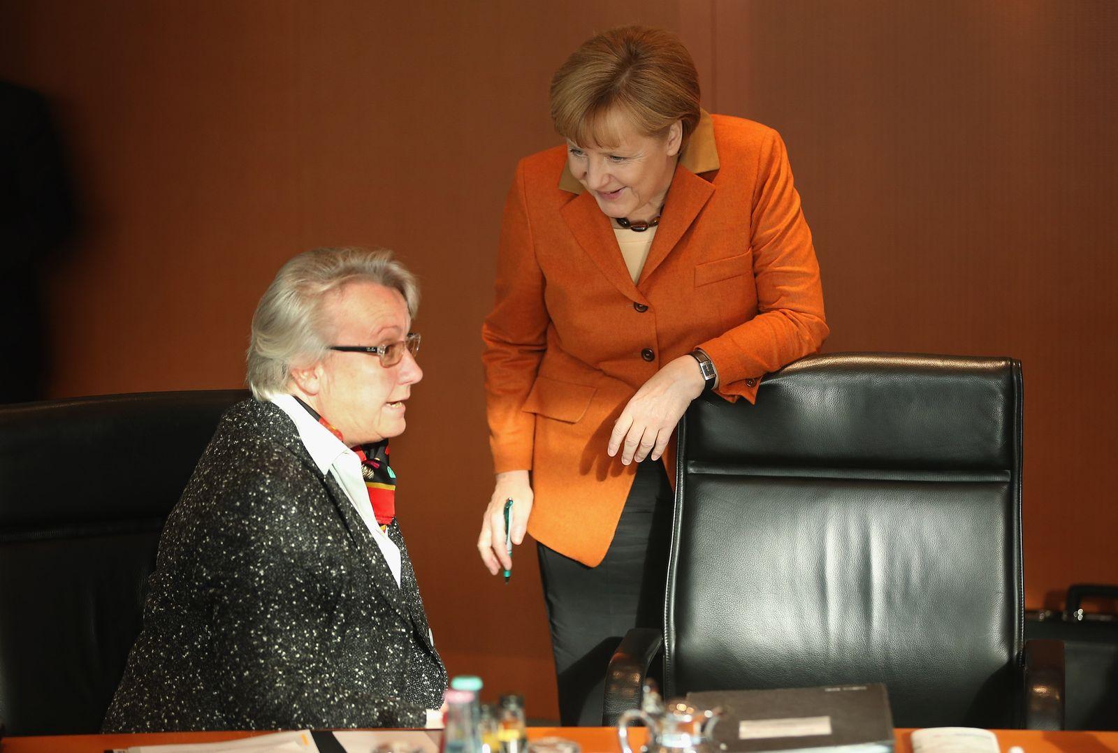 Merkel/ Schavan