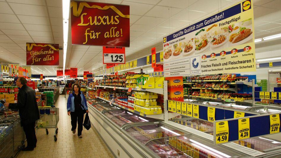 Lidl-Supermarkt: Coca Cola zu teuer für's Sortiment