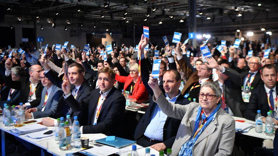 CDU-Delegierte (Archivbild)