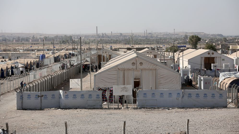 Photo Gallery: A Camp for Wives of IS Fighters