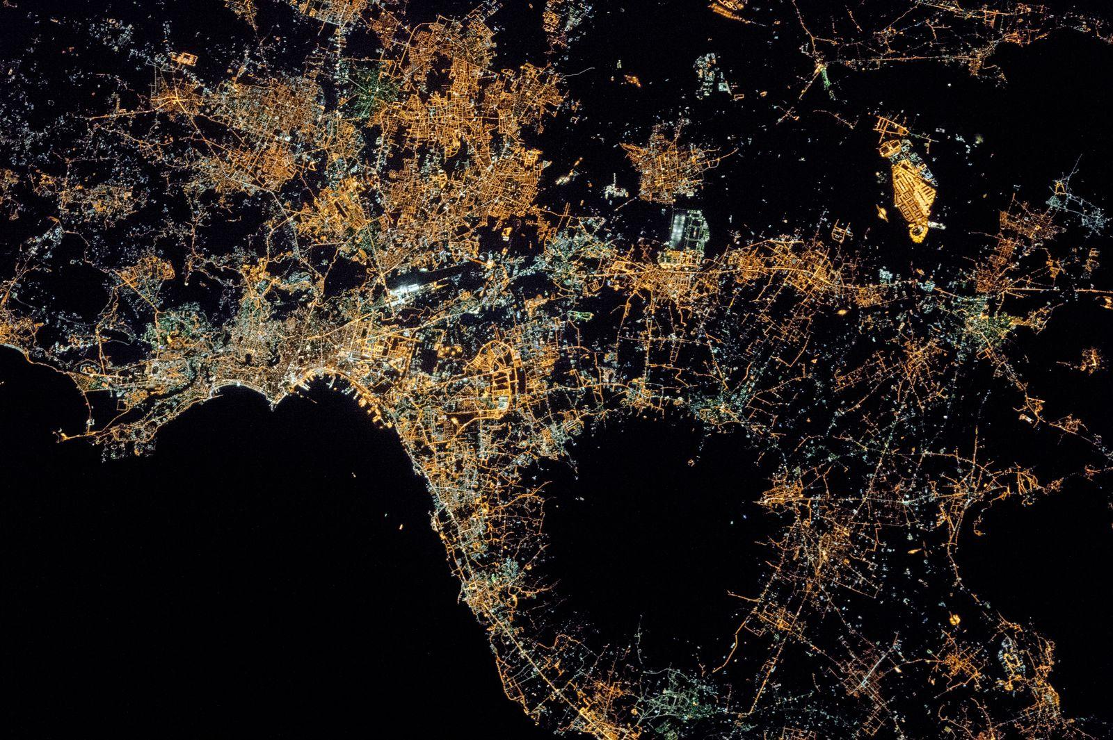 Satellitenbild / Neapel