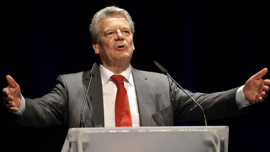 """Kandidat Gauck: """"Welle unerwarteter Zustimmung"""""""