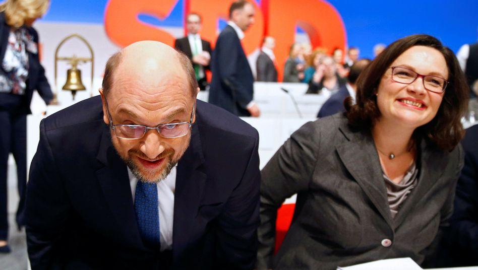 Martin Schulz, Andrea Nahles