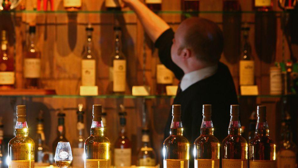 Whisky-Destillerie in Edinburgh, Schottland