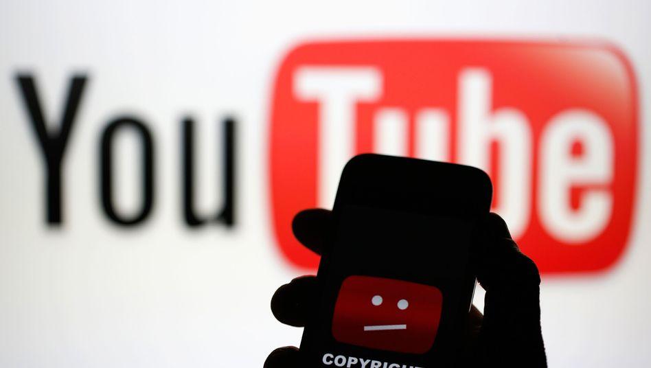 YouTube Fehler-Logo (Symbolbild)