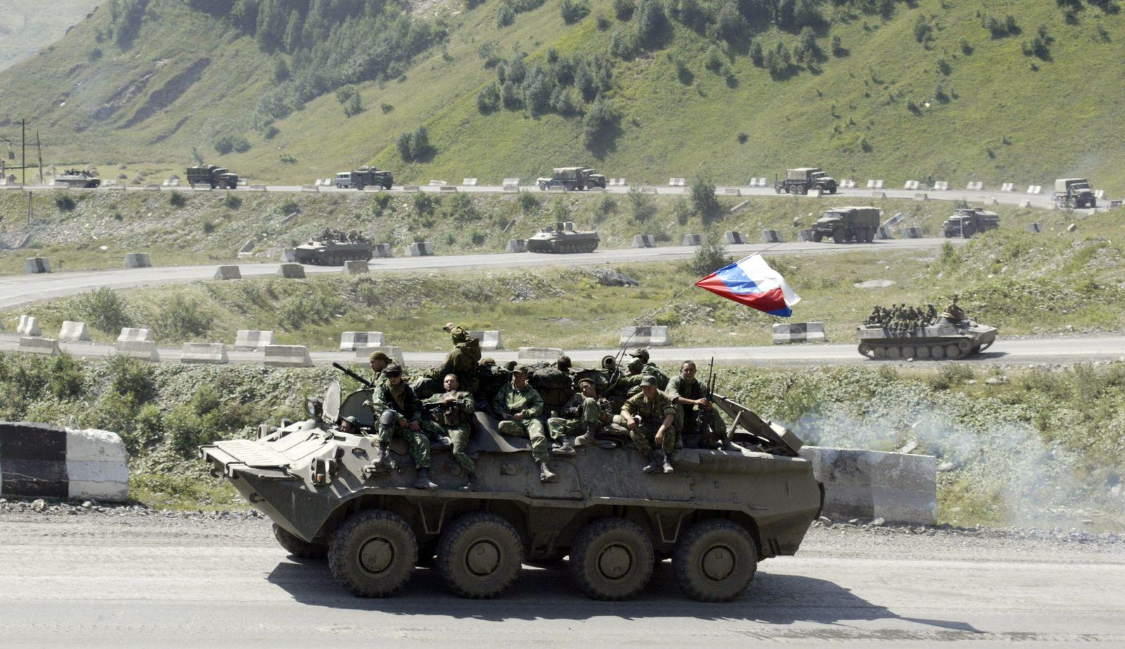 Südossetien / Russische Soldaten