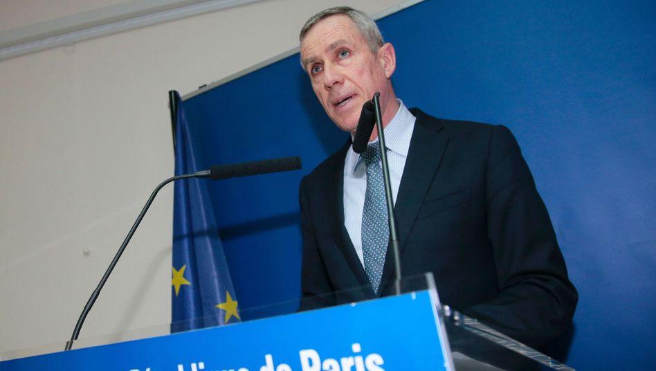 Der Pariser Anti-Terror-Staatsanwalt Francois Molins