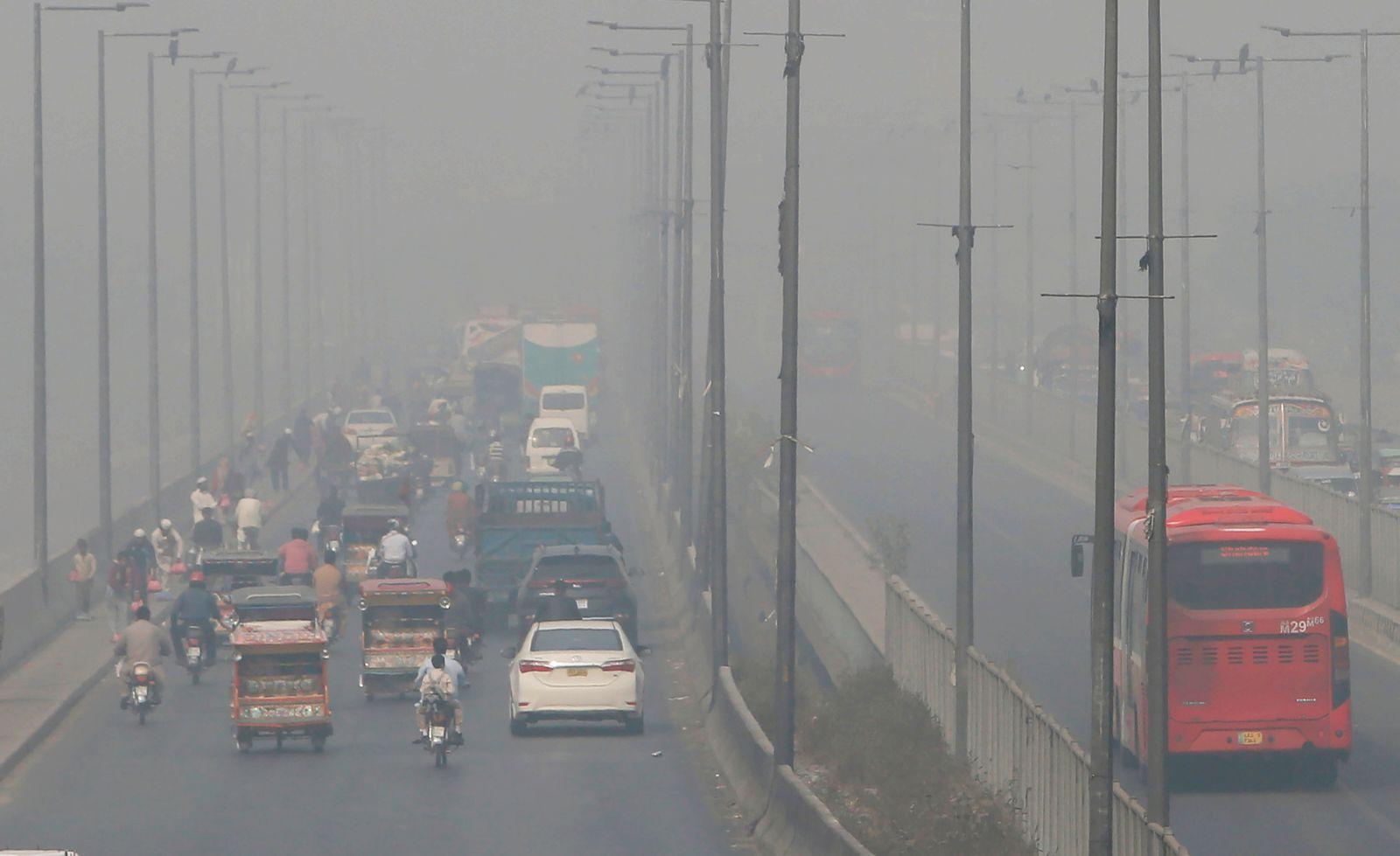 Luftverschmutzung in Pakistan