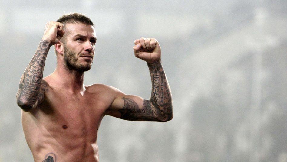 Beckhams Karriereende: King of Fußball-Pop