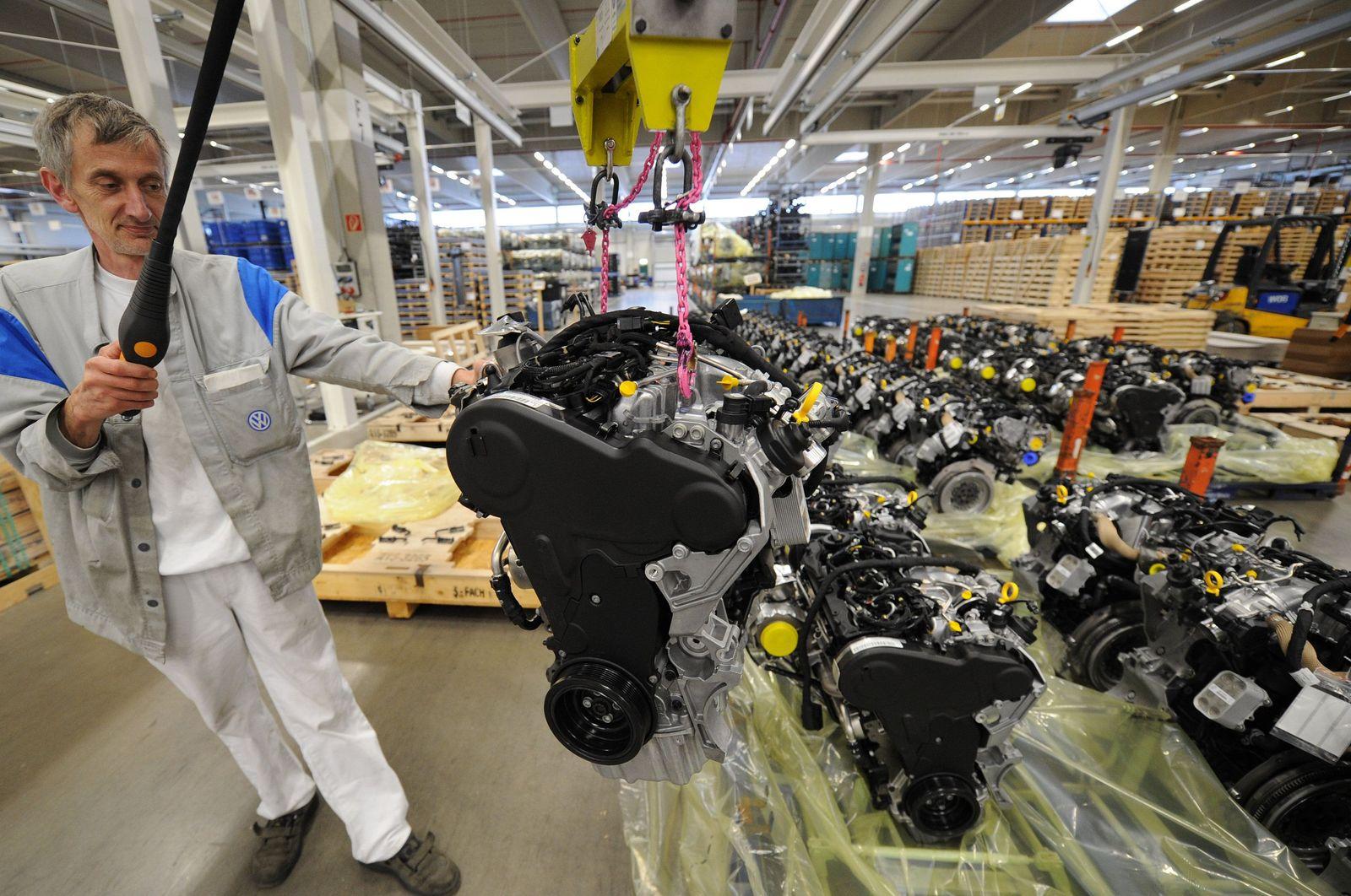 VW-Logistikzentrum Wolfsburg Akkord Ältere