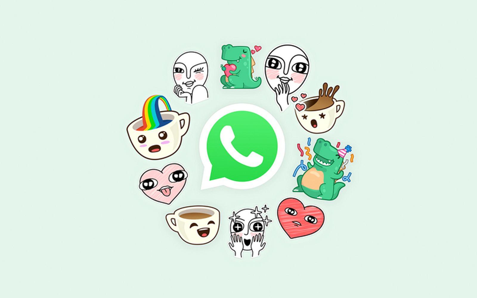 EINMALIGE VERWENDUNG Screenshot WhatsApp / Sticker