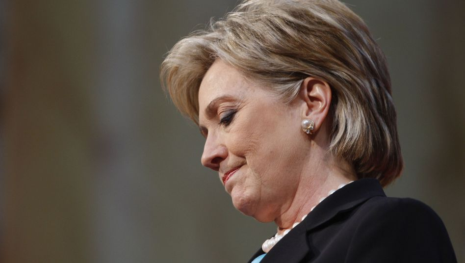 Demokratin Clinton: Politik ist kein Schwerverbrechen