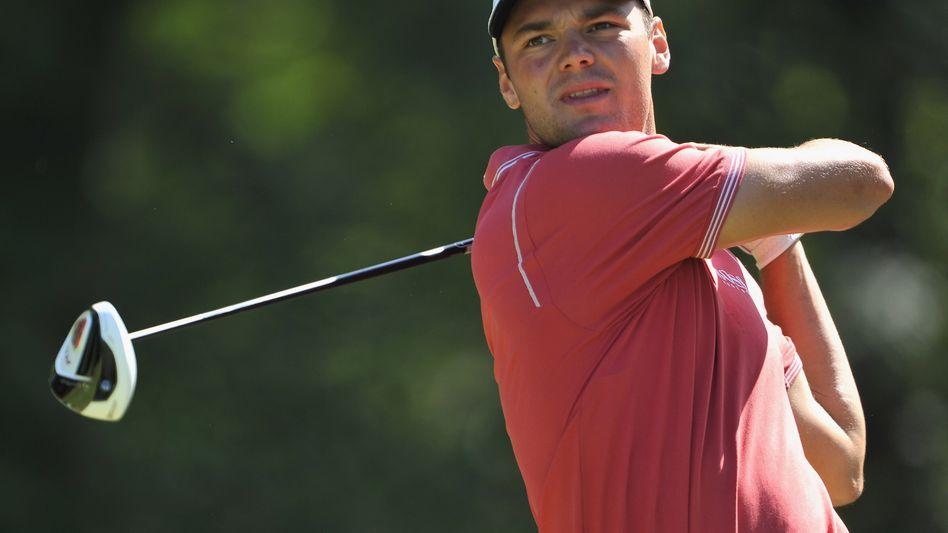 Golfer Kaymer: Auf dem geteilten fünften Rang