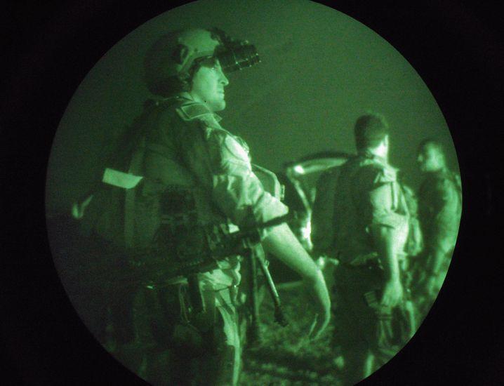 Team 6 bei einem Einsatz im Irak (Archiv): Die Soldaten gehören zu den besten des Landes