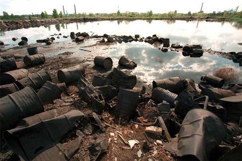 Dserschinsk (Russland): Aus knapp 40 Kandidaten eine repräsentative Top 10 der Umweltverschmutzung ausgewählt
