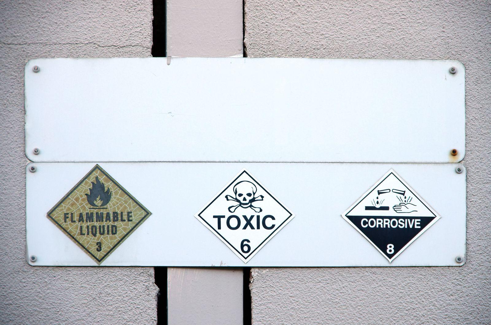 EINMALIGE VERWENDUNG Chemikalienrichtlinien