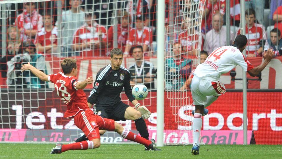 Bundesligaspiel Bayern gegen Nürnberg: Intensivierung der Geschäftsbeziehung