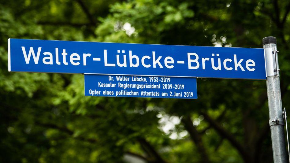 Umbenannte Brücke: »Wir sind dankbar, dass sie dauerhaft an Walter Lübcke erinnern wird«