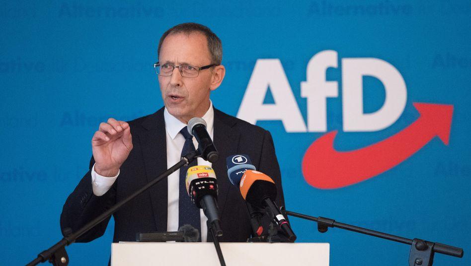 Jörg Urban, Vorsitzender des sächsischen AfD-Landesverbands (Archivbild)