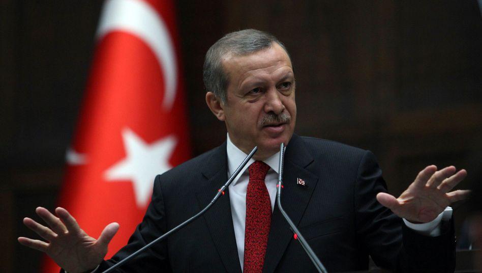 """Türkischer Premier Erdogan: """"Erfolg mit dem türkischen Volk"""""""