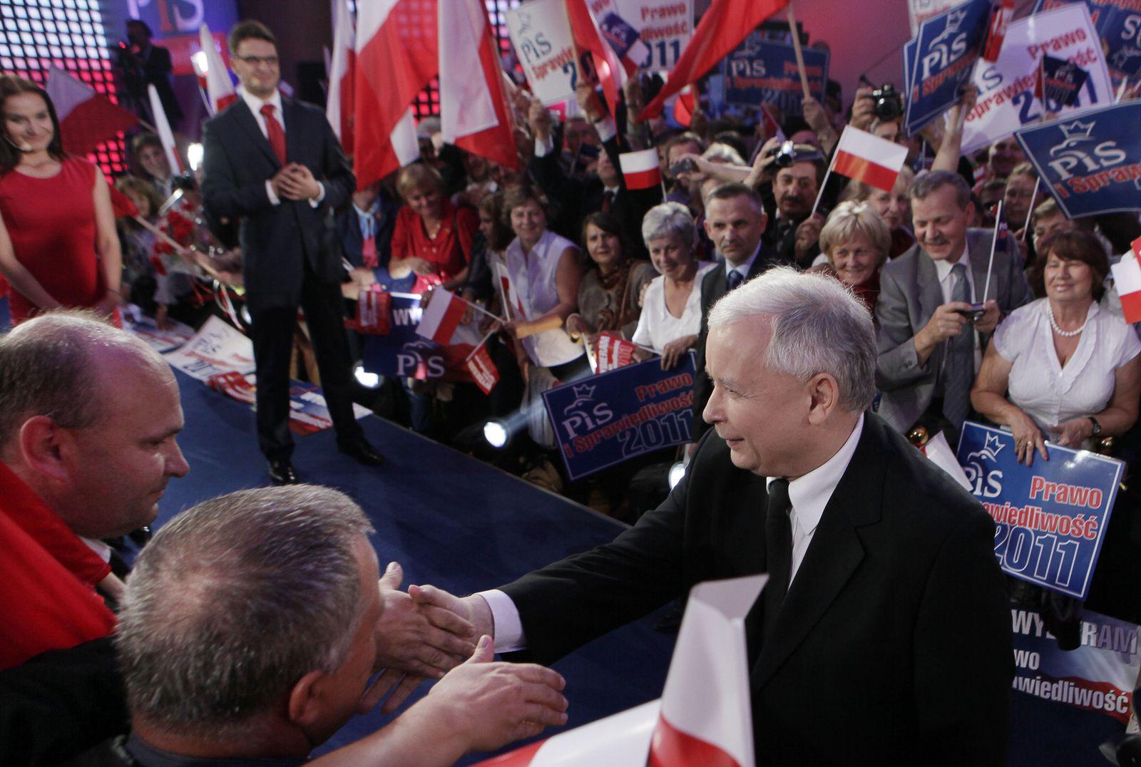 Poland Elections Kaczynski Polen