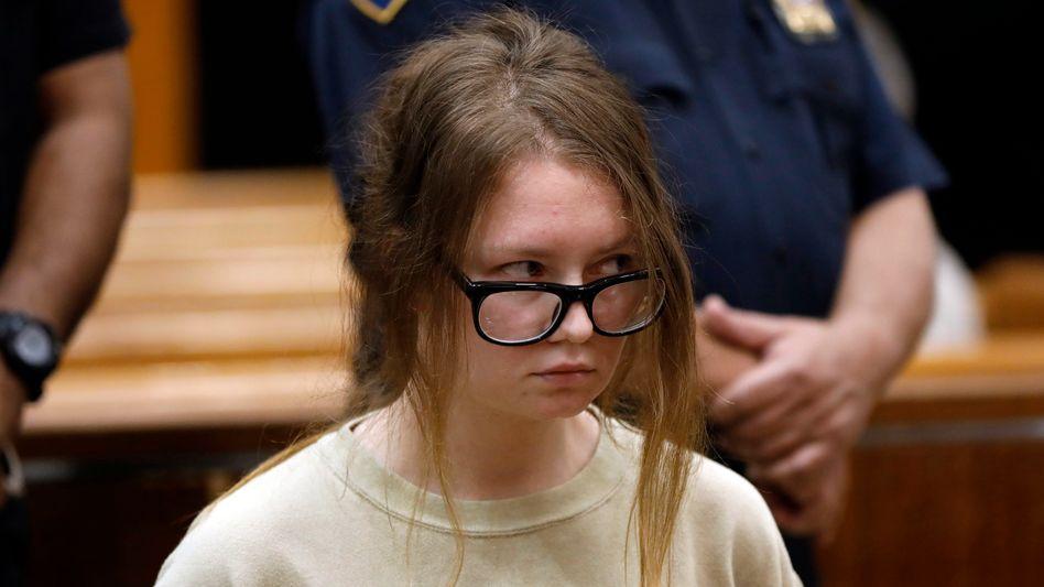 Anna Sorokin vor Gericht