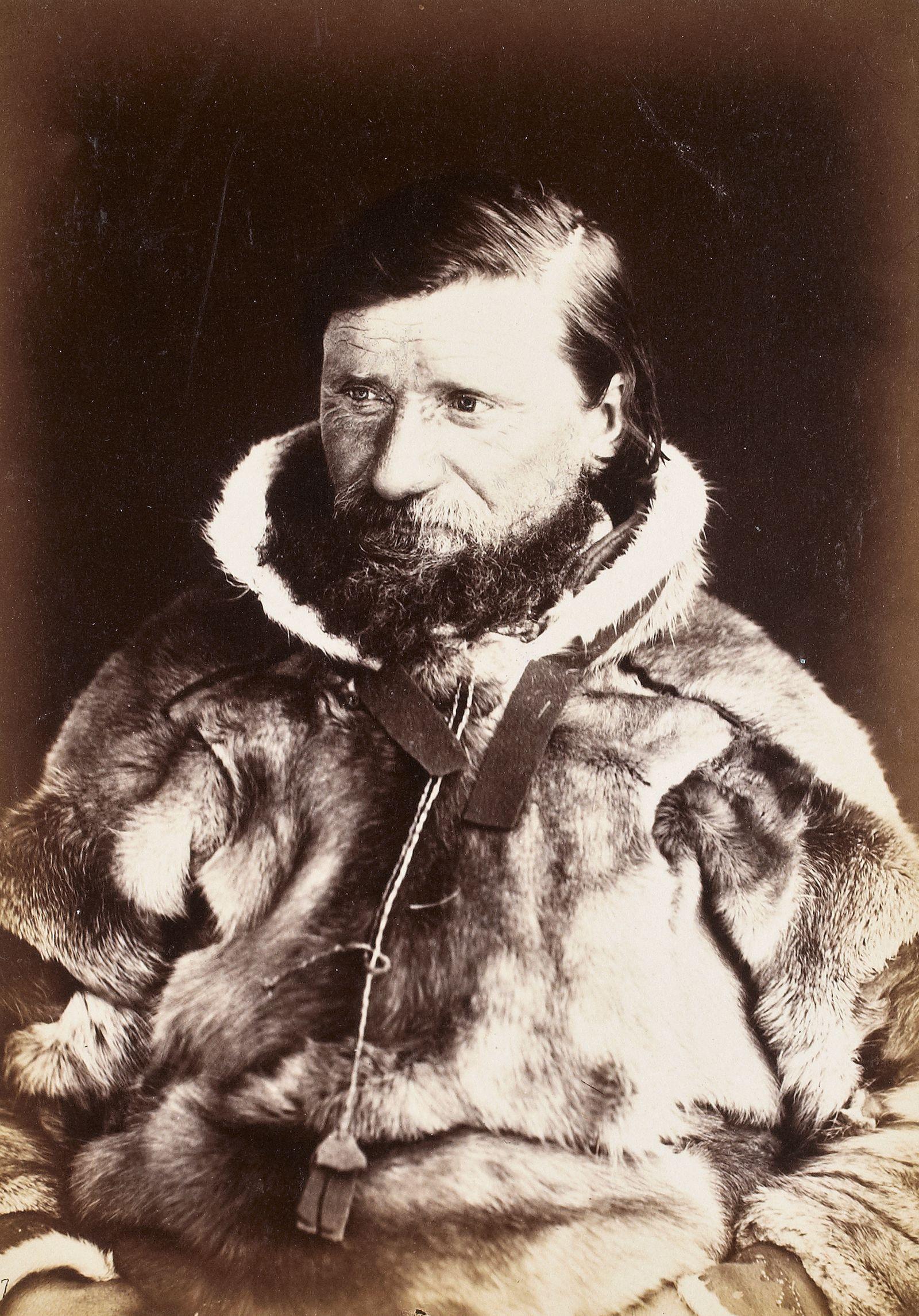 Historische Reisebilder - Johannes Mathisen Haetta, Kautokeino 1882/83