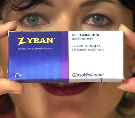 """""""Zyban"""" soll das Verlangen nach Nikotin dämpfen und Entzugserscheinungen mildern"""