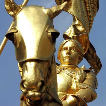 Die Anmut, der Wagemut: Jeanne d'Arc