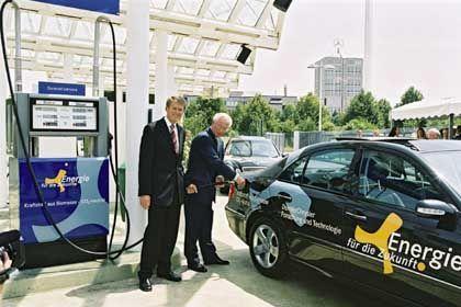 Tankstelle für Biokraftstoff: Heute noch die Ausnahme