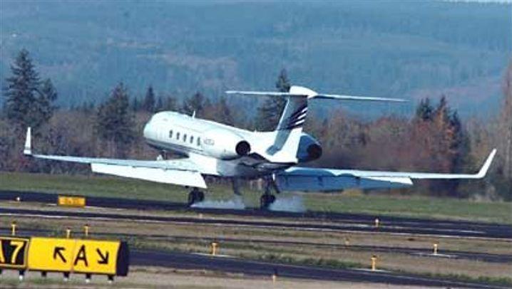 Oregon: Nike-Jet in Nöten